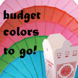 Pamela's Parasols - Budget Colors Collection