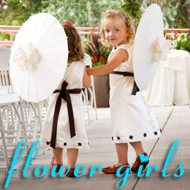 Pamela's Parasols - Flowergirls Collection