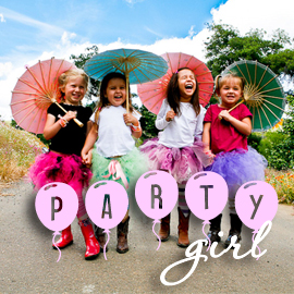 Pamela's Parasols - Party Girl Collection